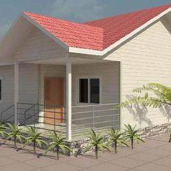 GASIA – Maison à ossature métallique de type F3 de 69 m²