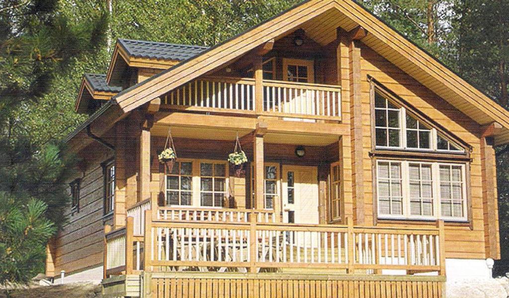 ESTATE - Chalet en bois avec madriers de type F4 de 139 m²