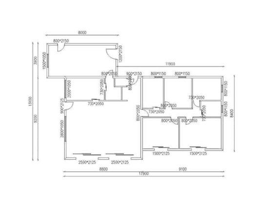 Plan TREFLAN - Maison en bois avec ossature acier de type F3 de 189 m²