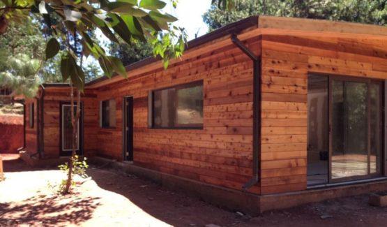 Plan TREFLAN – Maison en bois avec ossature acier de type F3 de 189 m²
