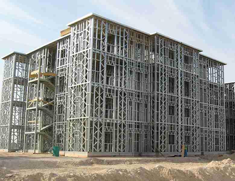 Construction structure métallique