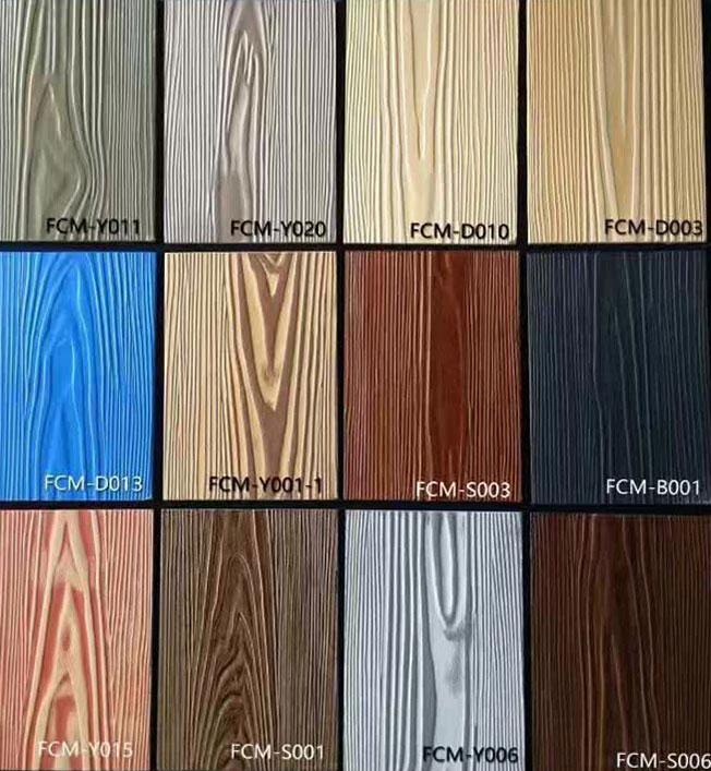 Habillage extérieur en fibre ciment