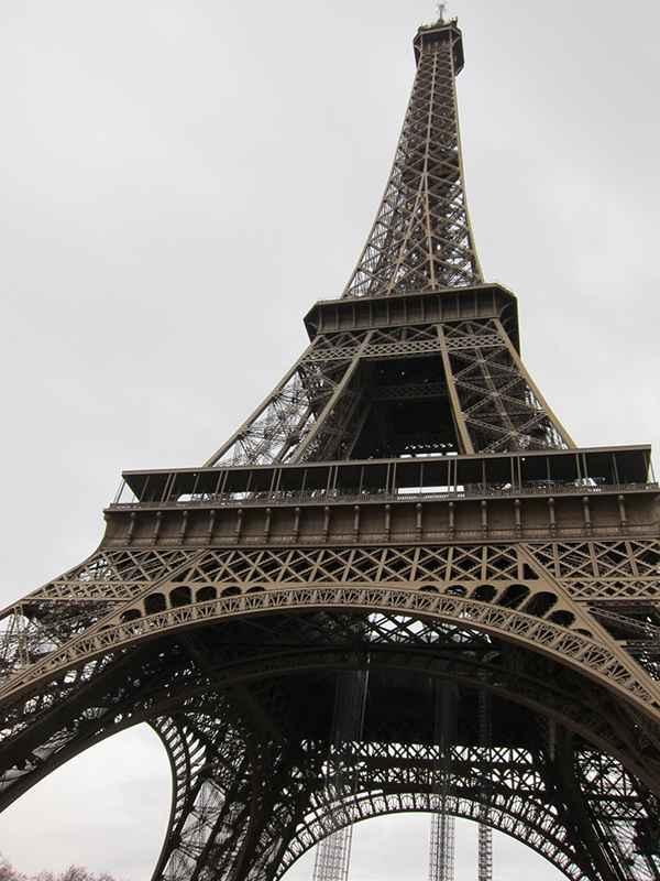 La Tour Eiffel, une fabuleuse construction métallique